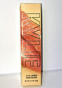 KYLIE JENNER COSMETICS 23 HIGH GLOSS Sheer Gold Glitter LIP Kit LIPSTICK Shimmer
