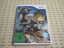 Monster Hunter 3 tri pour nintendo wii et wii u * OVP *