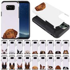 "For Samsung Galaxy S8+ Plus G955 6.2"" Dog Impact Hybrid Tpu Hard Case Cover"