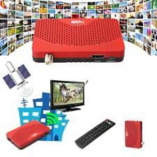 FTA HD 1080P Digital DVB-S2 DVB-S Satellite Receiver TV BOX Wifi Key Decoder SB