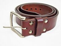 "Saddleback Leather SIZE 40 MEN'S 1.75"" WIDE OLD BULL BELT Chestnut"