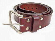 """Saddleback Leather Größe 40 HERREN 1.75 """" Breit Alt Bulle Gürtel Chestnut"""