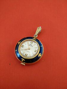 Rare Vintage Nelson 17J Swiss Small Ladies Pocket Watch_160