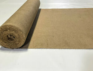 """40"""" W Burlap 8 oz Natural Fiber Vintage 100% Jute Upholstery Fabric By The Yard"""