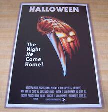 Halloween 11X17 Movie Poster Original Version Michael Myers