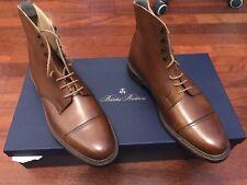 NEW💥Crockett & Jones💥Peal & Co💥Coniston Tan Pebble Grain Boots 11.5 US UK 11