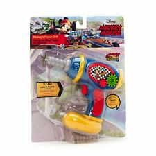 DISNEY Mickey Mouse Roadster Racers Moving Drill Tool - Light & Sound **NEW**