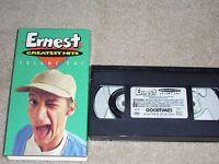 Ernest Greatest Hits Volume one, (VHS) 1992, Jim Varney, HILLARIOUS, RARE