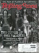 Rolling Stone issue 1259 - 04/16 - The Curse of the Ramones - Cheap Trick - more