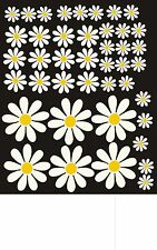 Daisy Flowers Self adhesive vinyl Car home Stickers decals graphics easy apply