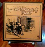 The Grateful Dead Workingman's Dead *Back cover upside down EX/EX