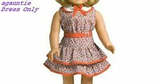 Brand New Retired American Girl Kit DRESS ONLY From Scooter Outfit (No AG Box)