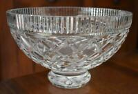 LOVELY VINTAGE WATERFORD CRYSTAL FOOTED KILLEEN BOWL EXCELLENT!!