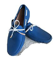 MOCKS Blue Mens Rubber Shoes Moccasins Boat Shoes size UK 7 EUR 41