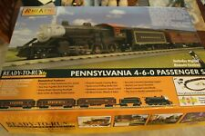 MTH Pennsylvania 4-6-0 Passenger Train Set PS-3