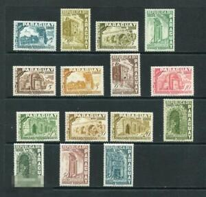 Paraguay airmail set MNH OG
