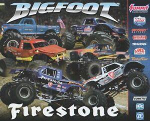 "2018 ""Bigfoot"" Firestone Ford Monster Truck Hero Card"