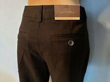 New Woman's Merona Black Modern Fit Slim Dress Pants Size 12
