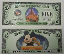 Disneyland 2014 Big Thunder Mountain $5 Five Disney Dollar Mint A001972