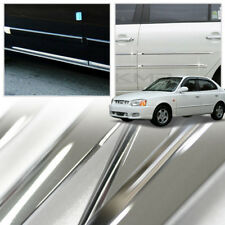 Chrome Side Skirt Door Line Sill Molding for HYUNDAI 1999 - 2005 Verna / Accent