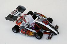 "GO-KART Tony-Kart, Tech Kart by X-Concepts, die-cast 1:12 scale 6"" L, Gray-6"