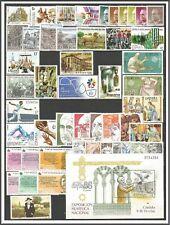 ESPAÑA AÑO 1986 COMPLETO SELLOS NUEVOS SIN SEÑAL DE FIJASELLO