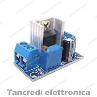 riduttore convertitore di tensione LM317 out 1,2V - 37V step down DC-DC
