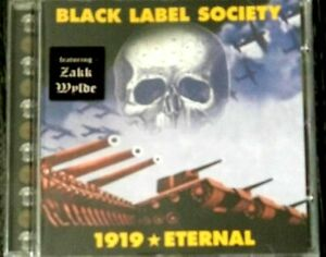BLACK LABEL SOCIETY 1919 eternal 2002 SPITFIRE rec
