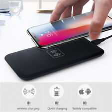iPhone X/8 Induktive Ladestation Samsung Wireless Kabellos Ladegerät Qi Charger