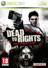 ELDORADODUJEU >>> DEAD TO RIGHTS RETRIBUTION Pour XBOX 360 NEUF VF