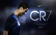Poster 42x24 cm Cristiano Ronaldo Real Madrid Futbol CR7 01
