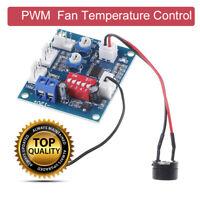 DC 12V PWM PC CPU Fan Temperature Control Speed Controller Board 5*4.3cm UK