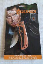 "Gerber Bear Grylls Survival AO Folding Pocket Knife 3"" Blade G31002531"