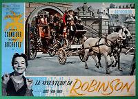 T48 Fotobusta die Abenteuer Von Robinson Romy Schneider Horst Buchholz Baku 1