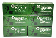 6 Boxes of Dieters' Tea Bebida Dietetica Slim Beauty BRAND Dieters 108 Tea Bags