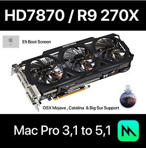 Apple Mac Pro ATI Radeon HD 7870 7950 2GB PCI-E Video Card 680 Mojave R9 270x