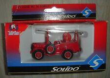 Camion Pompier SOLIDO 2139 Dodge WC 56 Echelle.
