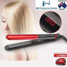 LCD Display 2-in-1 Ceramic Coating Hair Straightener Comb Hair Curler Beauty