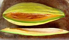 """Banana Melon *RARE Heirloom*  (30 Seed's) """"FREE SHIPPING"""" (NON GMO)"""