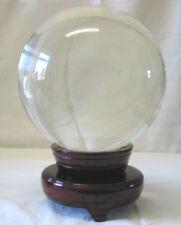 Kristallkugel / Glaskugel  magisch 20 cm + Zubehör *NEU*