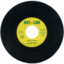 "DONNA KING c/w SONATAS  ""TAKE ME HOME c/w GOING ON DOWN THE ROAD""  NORTHERN SOUL"