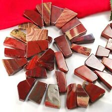 "20x14x6mm to 32x14x9mm Red Agate Nugget Bead 15""(AG539)i"