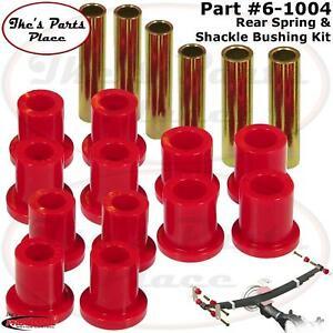 Prothane 6-1004 Rear Leaf Spring&Shackle Bushing Kit 75-79 Bronco-F150/250/350