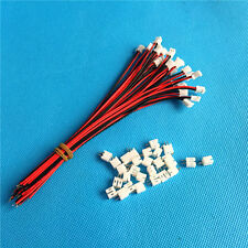 50 SETS Mini Micro JST PH 2.0 2.0mm 2-Pin Connector plug with Wires Cables