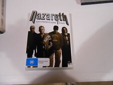 NAZARETH-LIVE FROM THE CLASSIC T STAGE-DVD-119 MINUTES-AUSTRALIA-REGIONS-2-3-4-5