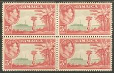 JAMAICA Sc# 152 MNH F 4Block Banana Courier