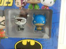 Funko Pint Size Heroes DC Blue Batman Rare Grey Black Harlequin Figure Brand New