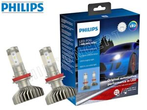 NEW! PHILIPS 5800K X-treme Ultinon LED Gen2 Fog Lamps 11366XUWX2 H8 H11 H16 PAIR