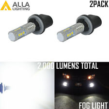 Alla Lighting 14-LED 3030-SMD 880 Cornering|Fog Light Bulb Super White Aluminium