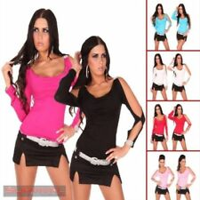 Cut Out Solid Regular Size Tops & Blouses for Women